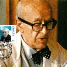 Timbres: ESPAÑA 1998- EDI 3543 [DR D. CARLOS JIMENEZ DÍAZ] (TARJETA MÁXIMA). Lote 75637023