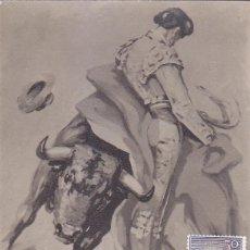 Sellos: TOROS FIESTA NACIONAL TAUROMAQUIA 1960 (EDIFIL 1258) EN BONITA Y RARA TARJETA MAXIMA PRIMER DIA.. Lote 76703663