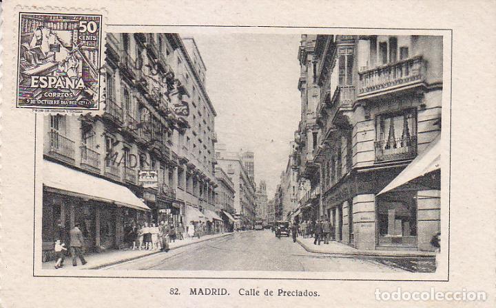 DON QUIJOTE CERVANTES IV CENTENARIO DIA DEL SELLO 1947 (EDIFIL 1012) TARJETA MAXIMA PRIMER DIA. RARA (Sellos - España - Tarjetas Máximas )