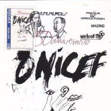 Timbres: UNICEF 50 ANIVERSARIO EFEMERIDES 1996 (EDIFIL 3447) EN TARJETA MAXIMA PRIMER DIA. RARA.. Lote 45429067