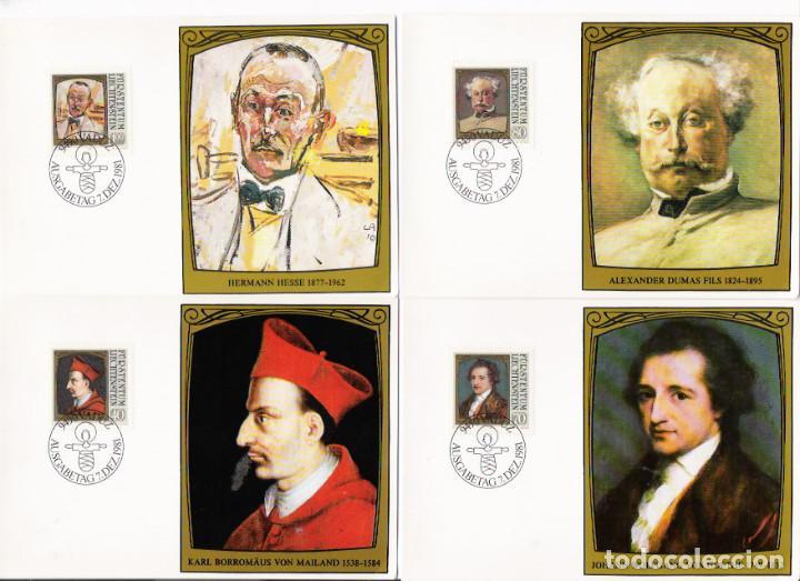 Sellos: Liechtenstein16 postales máximun - Foto 2 - 95449775