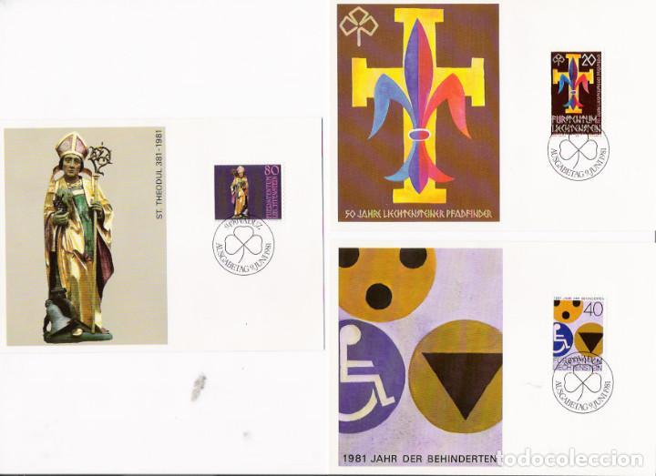 Sellos: Liechtenstein16 postales máximun - Foto 4 - 95449775