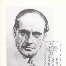 Sellos: EDIFIL 2569, JOSÉ ORTEGA Y GASSET, TARJETA MAXIMA DE PRIMER DIA DE 28-4-1980. Lote 96836003