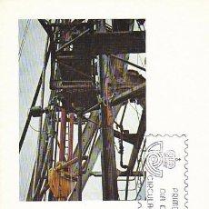 Sellos: EDIFIL Nº 2563, ESPAÑA EXPORTA PRODUCTOS SIDERURGICOS, TARJETA MAXIMA DE PRIMER DIA DE 15-3-1980. Lote 96836715