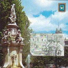 Sellos: EDIFIL 2984, FUENTE DE APOLO (CARLOS III Y LA ILUSTRACION), TARJETA MAXIMA PRIMER DIA DE 14-12-1988. Lote 97055055