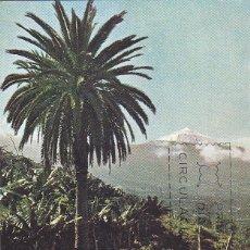 Sellos: EL TEIDE TENERIFE CANARIAS TURISMO SERIE TURISTICA 1966 (EDIFIL 1731) EN TARJETA MAXIMA PRIMER DIA.. Lote 99213759