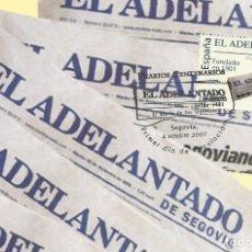 Sellos: 2007 TARJETA MAXIMA CENTENARIO PERIÓDICO EL ADELANTADO DE SEGOVIA. Lote 101188791