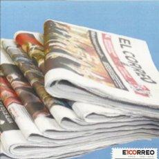 Sellos: 2007 TARJETA MAXIMA CENTENARIO PERIÓDICO EL CORREO DE BILBAO. Lote 101189011