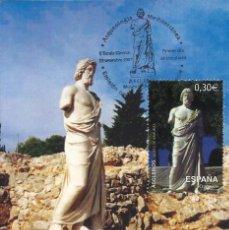 Sellos: 2007 TARJETA MÁXIMA VILLA ROMANA DE AMPURIAS. Lote 102054691