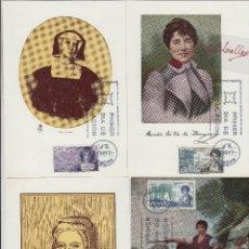 Selos: 1864/7 AÑO 1968 - PERSONAJES ESPAÑOLES - EN TM /TARJETA MÁXIMA PRIMER DÍA. Lote 102533867
