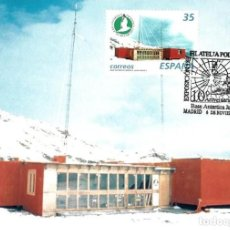 Tarjeta Máxima Base Antartica JUAN CARLOS I Filatelia Polar
