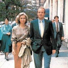1988 Tarjeta maxima Rey JUAN CARLOS I y SOFIA Matasellos Barcelona
