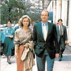 1989 Tarjeta maxima Rey JUAN CARLOS I y SOFIA Matasellos ALGECIRAS