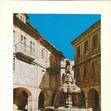 Selos: EDIFIL 2130, LUGO: PLAZA DEL CAMPO, TARJETA MAXIMA DE PRIMER DIA DE 11-6-1973. Lote 109365055