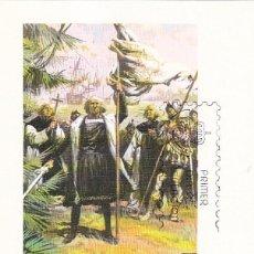 Sellos: EL DESCUBRIMIENTO DE AMERICA EUROPA 1982 (EDIFIL 2658) EN TM PD CRISTOBAL COLON. BONITA Y RARA ASI.. Lote 109728035