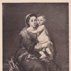 N ed 1272 ao 1960 pintura murillo virgen comprar tarjetas la virgen del rosario pintura bartolome esteban murillo 1960 edifil 1272 tm publicidad thecheapjerseys Choice Image