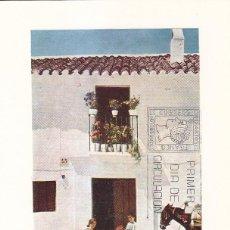 Sellos: BURRO TAXI DE MIJAS MALAGA SERIE TURISTICA 1975 (EDIFIL 2270) EN TARJETA MAXIMA PRIMER DIA BARCELONA. Lote 112954143