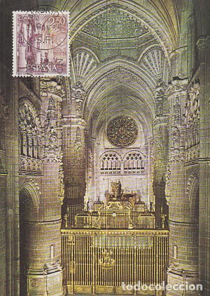 EDIFIL 1649, CATEDRAL DE BURGOS, TARJETA MAXIMA DE PRIMER DIA DE 29-11-1965 (Sellos - España - Tarjetas Máximas )