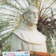 Sellos: FRAY JUAN PEREZ V CENTENARIO DESCUBRIMIENTO DE AMERICA 1987 (EDIFIL 2921) TM PD MATASELLOS LA RABIDA. Lote 118729299