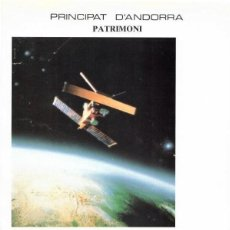 Sellos: PRINCIPAT D´ANDORRA PATRIMONIO 1991 - EUROPA C.E.P.T., LA EUROPA ESPACIAL (ANDORRA LA VIEJA). Lote 136103170