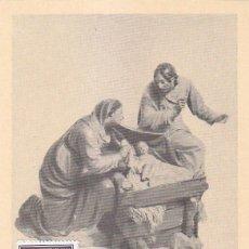 Sellos: NAVIDAD 1961 LA SAGRADA FAMILIA DE JOSE GINES (EDIFIL 1400) EN TARJETA MAXIMA PRIMER DIA.. Lote 136178666