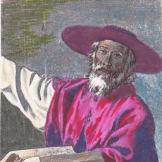 Sellos: RELIGION PINTURA SAN JERONIMO DE ZURBARAN 1962 (EDIFIL 1423) TM FUENTE DE CANTOS BADAJOZ CIRCULADA. . Lote 136274658