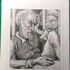 Sellos: IV CENT. QUIJOTE DE LA MANCHA. TARJETA MÁXIMA. TAMAÑO DOMIO. Lote 139739374