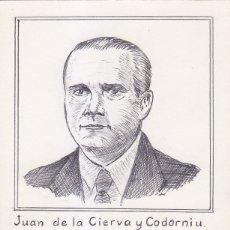 Sellos: JUAN DE LA CIERVA 1941-1947 (EDIFIL 944) BONITA Y RARA TARJETA MAXIMA ARTESANAL EN ENTERO POSTAL.. Lote 36403907