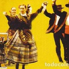 Sellos: EDIFIL 4508, BAILES POPULARES: EL CANDIL, TARJETA MÁXIMA PRIMER DÍA DE 17-9-2009. Lote 142597058