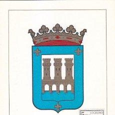 Sellos: ESCUDO DE LOGROÑO 1964 MATASELLOS MADRID (EDIFIL 1555) EN TARJETA MAXIMA PRIMER DIA.. Lote 151630974