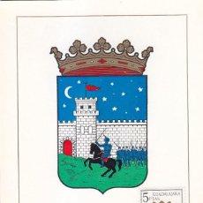 Sellos: ESCUDO DE GUADALAJARA 1963 MATASELLOS MADRID (EDIFIL 1489) EN TARJETA MAXIMA PRIMER DIA.. Lote 151633038
