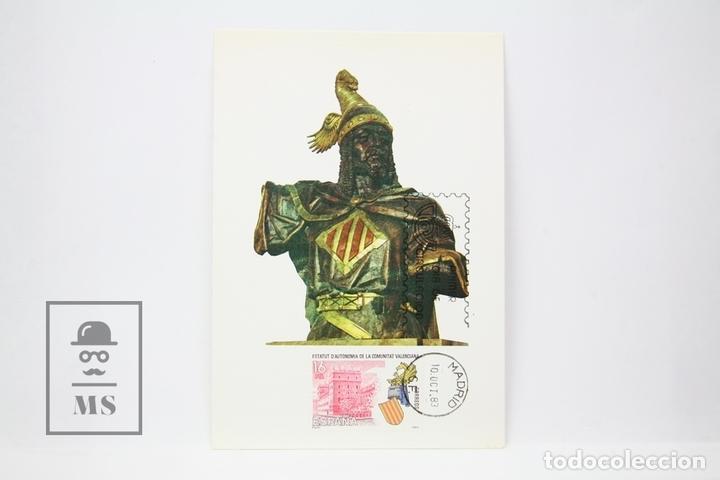 TARJETA MÁXIMA AÑO 1983 - ESTATUTO COMUNIDAD VALENCIANA - EDIFIL 2691 (Sellos - España - Tarjetas Máximas )