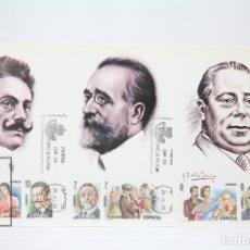 Sellos: TARJETAS MÁXIMA AÑO 1984 - MAESTROS DE LA ZARZUELA - EDIFIL 2762/67. Lote 152152257