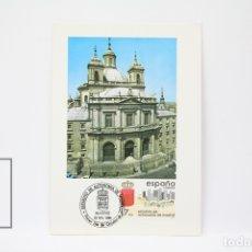 Sellos: TARJETA MÁXIMA AÑO 1984 - ESTATUTO DE AUTONOMÍA DE MADRID - EDIFIL 2742. Lote 152152361