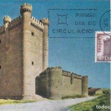 Selos: CASTILLO DE FUENSALDAÑA VALLADOLID CASTILLOS DE ESPAÑA 1968 (EDIFIL 1881) TARJETA MAXIMA PRIMER DIA.. Lote 152724790