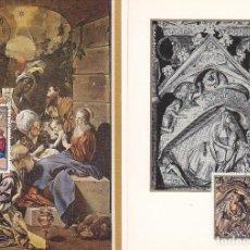 Sellos: REYES MAGOS NATIVIDAD GERONA NAVIDAD 1969 (EDIFIL 1944/45) EN DOS TARJETAS MAXIMAS PRIMER DIA.. Lote 156580446