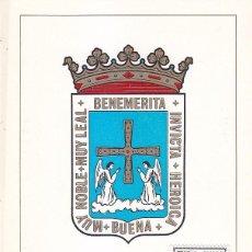 Selos: ESCUDO DE OVIEDO 1964 MATASELLOS PROVINCIA (EDIFIL 1562) EN TARJETA MAXIMA PRIMER DIA.. Lote 164093894