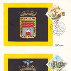 Sellos: L 50 ANIVERSARIO DE LA LEGION 1971 (EDIFIL 2043/46) EN CUATRO TM PRIMER DIA SAN SEBASTAN RARAS MPM. Lote 165026274