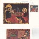 Sellos: RELIGION NAVIDAD 1971 AVIA Y SANT ANDREU DE SAGARS (EDIFIL 2061/62 EN DOS TM PD MATASELLOS BARCELONA. Lote 165737090