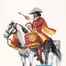 Sellos: TIMBALERO DE CABALLOS CORAZA 1674 UNIFORMES MILITARES II GRUPO 1974 (EDIFIL 2170) EN TM PD MADRID.. Lote 168167920