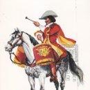 Sellos: TIMBALERO DE CABALLOS CORAZA 1674 UNIFORMES MILITARES II GRUPO 1974 (EDIFIL 2170) EN TM PD BARCELONA. Lote 168167960