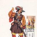 Sellos: ARCABUCERO DE INFANTERIA 1632 UNIFORMES MILITARES II GRUPO 1974 (EDIFIL 2168) EN TM PD MADRID.. Lote 168168532