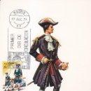 Sellos: OFICIAL REGIMIENTO REAL DE ARTILLERIA 1710 UNIFORMES MILITARES III GRUPO 1974 (EDIFIL 2198) EN TM PD. Lote 168262624