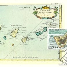 Sellos: TARJETA MAXIMA ESPAÑA ISLA DE TENERIFE -EDIFIL 2668 -. Lote 168276784