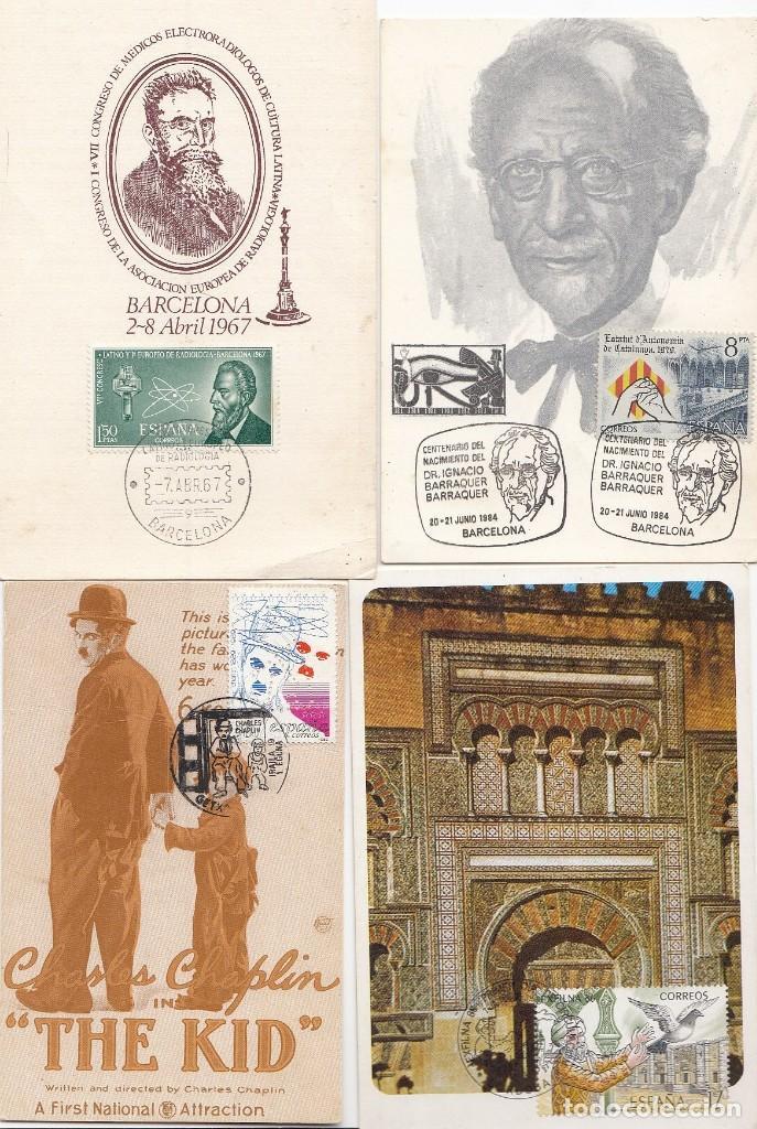 Sellos: Lote de 22 tarjetas de exposiciones filatélicas, tarjetas máximas, etc... - Foto 5 - 170113448