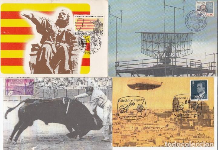 Sellos: Lote de 22 tarjetas de exposiciones filatélicas, tarjetas máximas, etc... - Foto 6 - 170113448