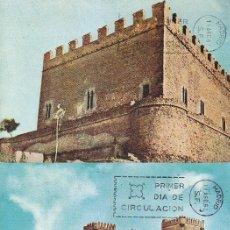 Sellos: VARIEDAD CASTILLOS DE ESPAÑA 1967 (EDIFIL 1809/16) EN OCHO TM PRIMER DIA SIN SELLOS. MUY RARAS. MPM.. Lote 172685964