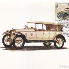 Sellos: HISPANO SUIZA 1916 AUTOMOVILES ANTIGUOS ESPAÑOLES 1977 (EDIFIL 2410) TM PD SALON DEL AUTOMOVIL. MPM.. Lote 175544248
