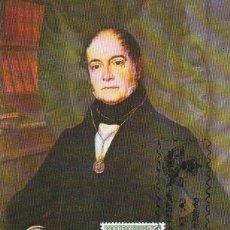 Sellos: ANDRES BELLO RECTOR UNIVERSIDAD DE CHILE CENTENARIOS 1982 (EDIFIL 2647) EN TM PRIMER DIA MODELO 1.. Lote 180332798