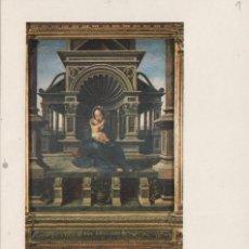 Selos: 1985 - ED 2779 EUROPALIA , VIRGEN DE LA LOVAINA MAT XXV ANIV GABINET POSTAL - TM /TARJETA MÁXIMA. Lote 184457263